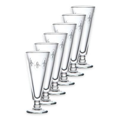 La Rochere Fleur de Lis Champagne Flutes (Set of 6)