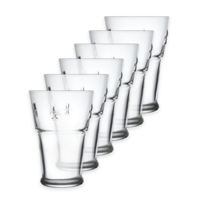 La Rochère Fleur de Lys Juice Glasses (Set of 6)