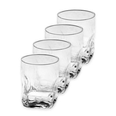 Mikasa Quartz Double Old Fashioned Glasses (Set of 4)