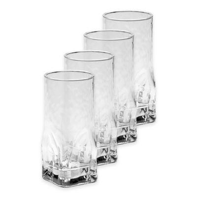 Mikasa Quartz Highball Glasses (Set of 4)