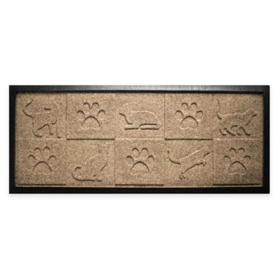 Mat Boot Tray in Camel Door Mats