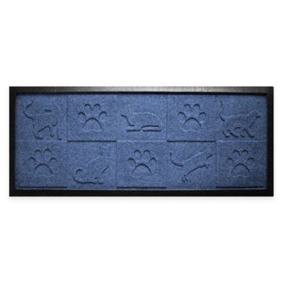 Mat Boot Tray in Navy Door Mats
