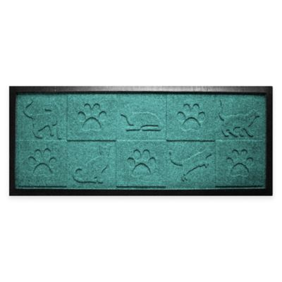Mat Boot Tray in Aquamarine Door Mats