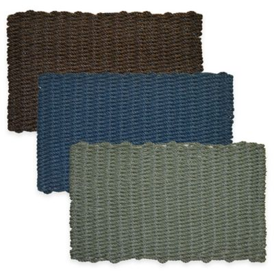 Mariner 18-Inch x 30-Inch Reversible Door Mat in Brown