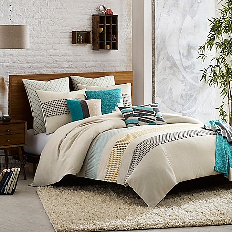Kas room annelie duvet cover bed bath beyond for Living room quilt cover
