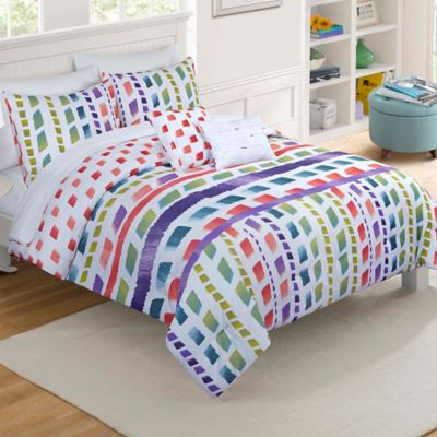 Vue® Paris Reversible Full/Queen Comforter Set in Multi