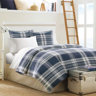 Nautica® Biscayne Bay Twin Comforter Set in Nautical Blue