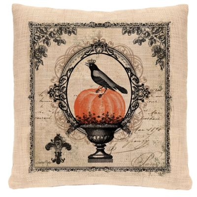 Heritage Lace® Victorian Halloween Square Throw Pillow