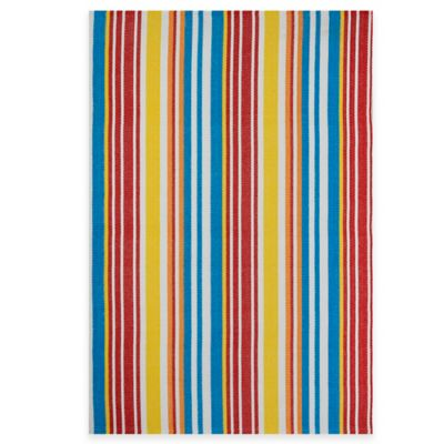 Fab Habitat Rio 5-Foot x 8-Foot Indoor/Outdoor Multicolored Area Rug