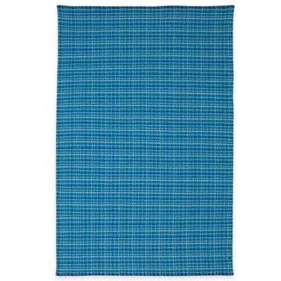 Fab Habitat Theory 3-Foot x 5-Foot Indoor/Outdoor Polypropylene Area Rug in Blue