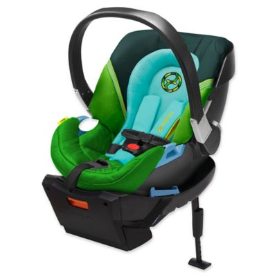 Cybex Aton 2 Infant Car Seat in Green Hawaiian