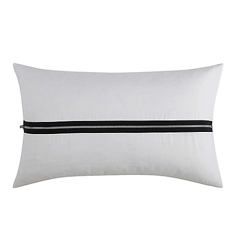 Buy Vince Camuto Lucerne Zipper Oblong Throw Pillow In
