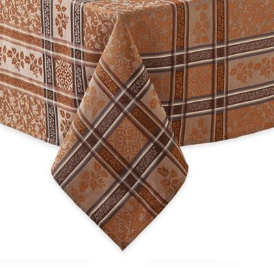 Winchester 52-Inch Square Tablecloth in Copper