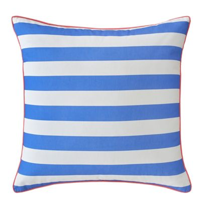 Southern Tide® Coastal Ikat Stripe European Pillow Sham in Cool Blue