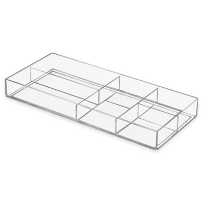 InterDesign® Luci Divided Tray