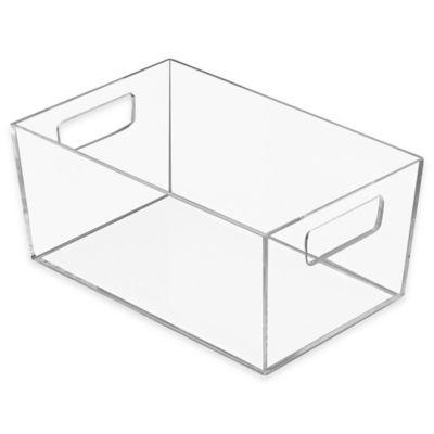 InterDesign® Luci Small Vanity Bin