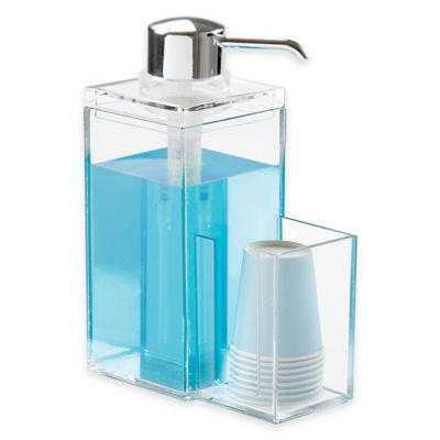 InterDesign® Luci Mouthwash Caddy