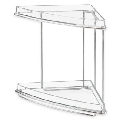InterDesign® Luci 2-Tier Vanity Shelf