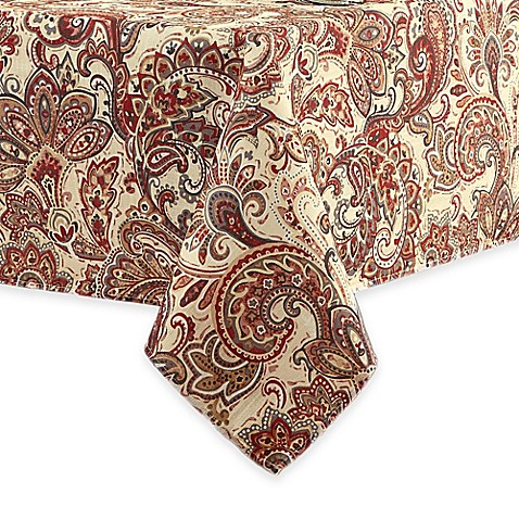 Sienna tablecloth for 102 inch table runners