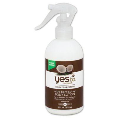 Yes To® Coconut 10 oz. Ultra Light Spray Body Lotion
