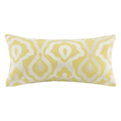 Echo Design™ Indira Oblong Throw Pillow in Yellow