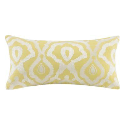 Echo Design Throw Pillows : Echo Design Indira Oblong Throw Pillow in Yellow - Bed Bath & Beyond