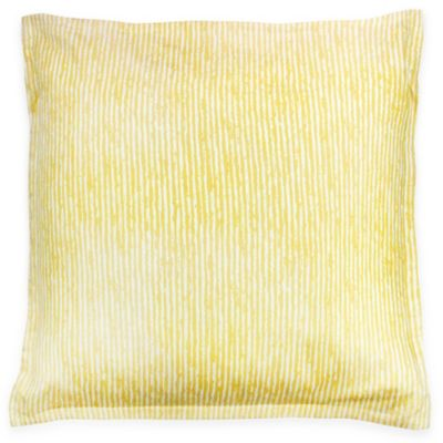 KAS ROOM Logan European Pillow Sham in Yellow