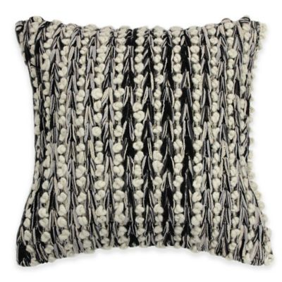 KAS ROOM Logan Square Throw Pillow in Grey
