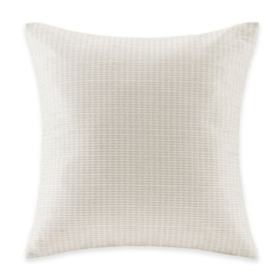 Echo Design™ Juneau Square Throw Pillow in Ivory