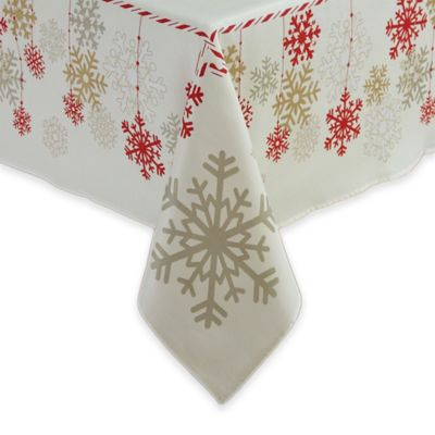 Silver Christmas Table Linens