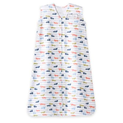 HALO® SleepSack® Large Racetrack Cotton Wearable Blanket in White