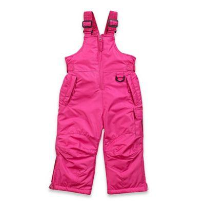 Arctic Quest Size 3T Ski Bib in Pink