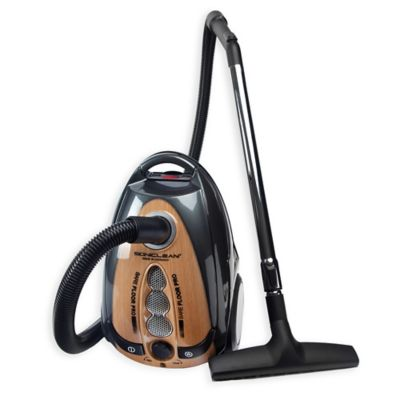 Canister Vacuum with Bag and HEPA Filter