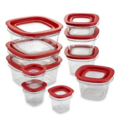 Rubbermaid® Premier 20-Piece Food Storage Set