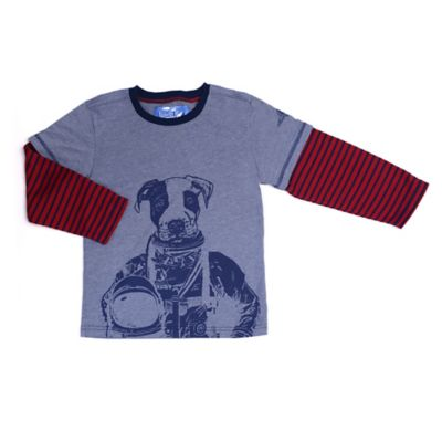 Kapital K™ Size 12M 2-in-1 Puppy Astronaut Long Sleeve T-Shirt