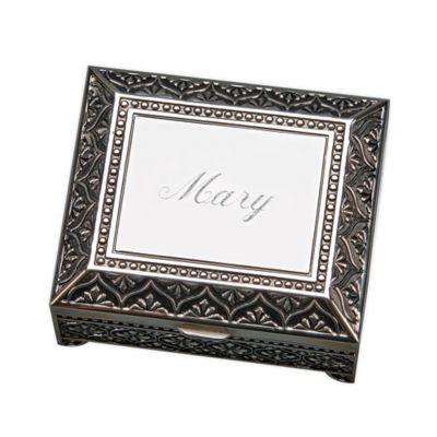 3-Inch Square Keepsake Box