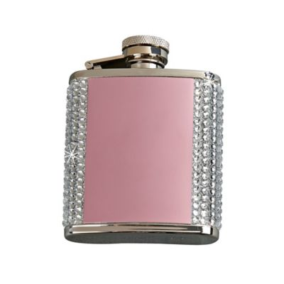 Crystal Flask in Pink