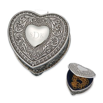 Genoa Heart Keepsake Box