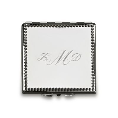 Beaded Square Compact