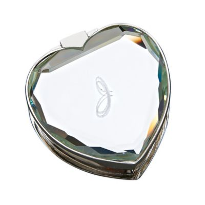 Mirrored Heart Keepsake Box