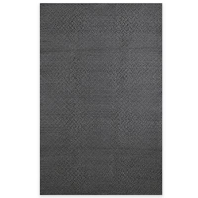 Fab Habitat Karma 3-Foot x 5-Foot Rug in Black/Grey