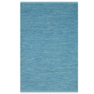 Fab Habitat Cancun 6-Foot x 9-Foot Indoor/Outdoor Area Rug in Blue