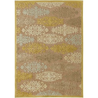 Surya Basilica Rosenheim 2-Foot 2-Inch x 3-Foot Accent Rug in Ivory