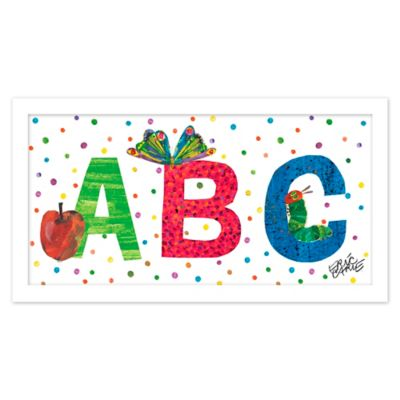 ABC Polka Dots Wall Art