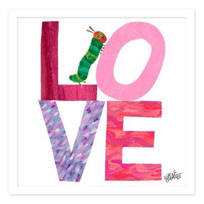 Eric Carle Love Bug Wall Art