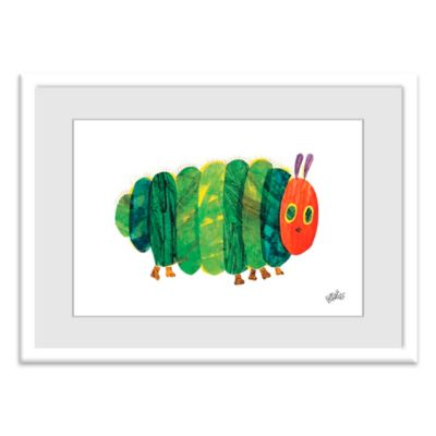 Eric Carle Fat Caterpillar Wall Art