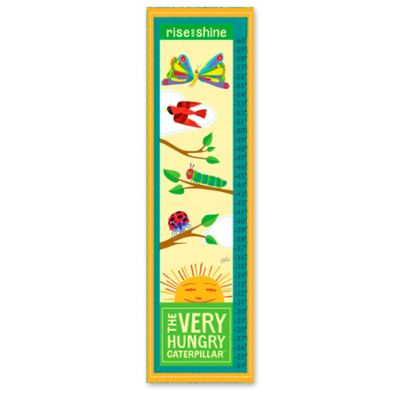 Eric Carle Sunny Day Growth Chart Canvas Wall Art