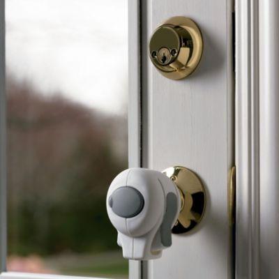 KidCo® Door Knob Lock in White