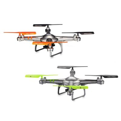 Cloud Rider™ 2.4 GHz Remote Controlled Quadrocopter with Video Camera in Grey/Orange