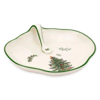 Spode® Christmas Tree Single Handled Tray